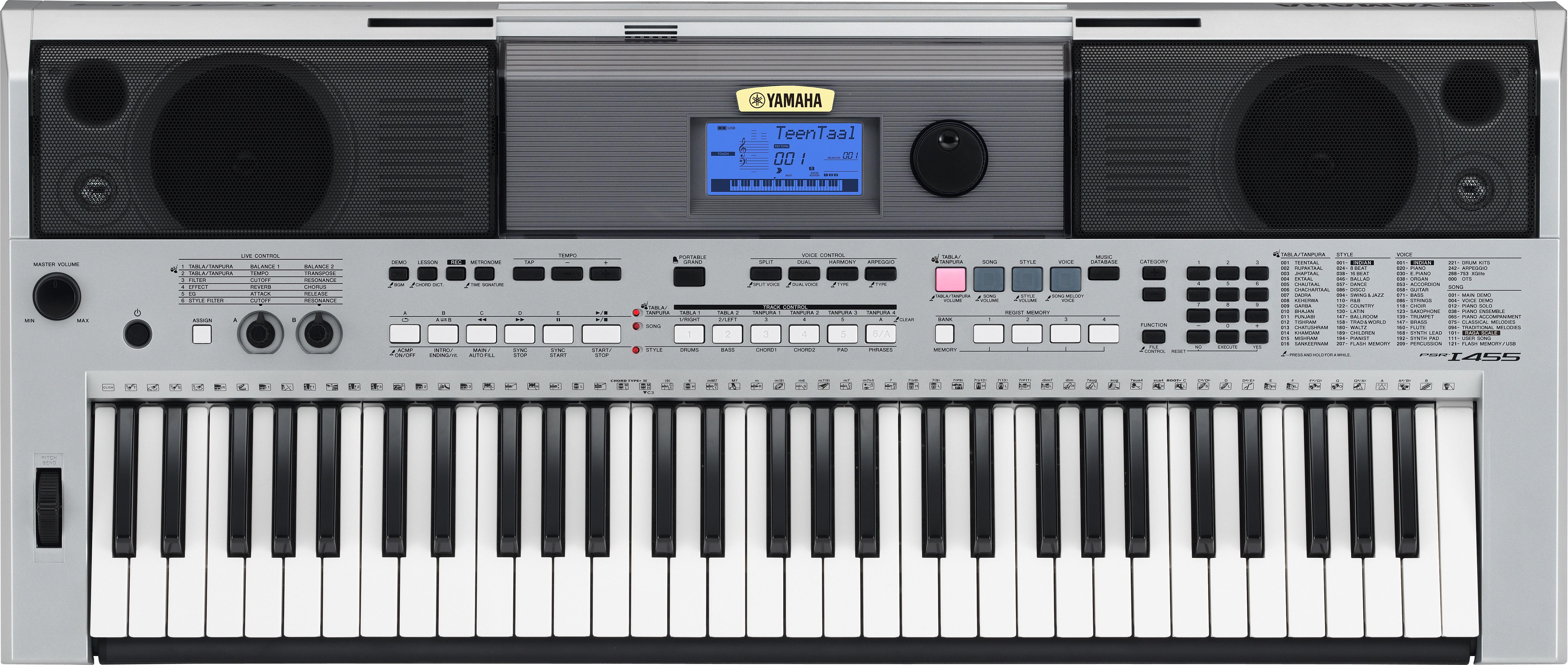 Yamaha psr i455 synthpedia for Yamaha cs1x keyboard